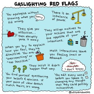 Gaslighting Red Flags